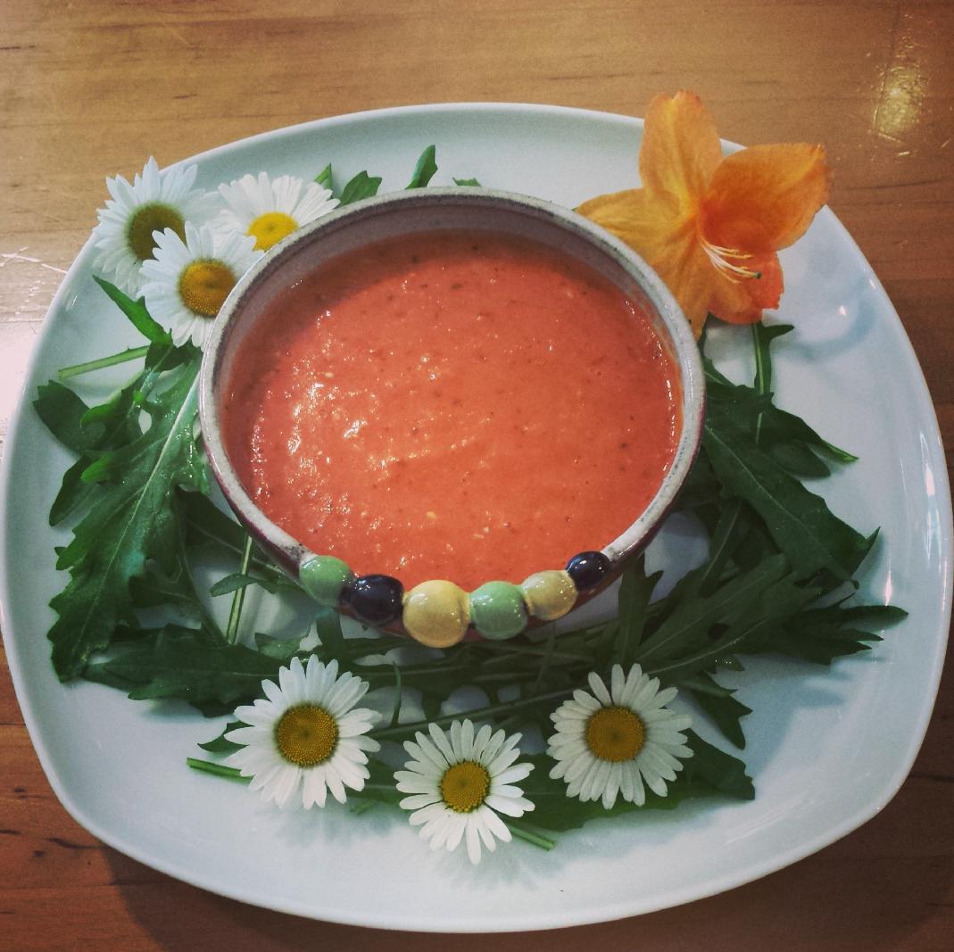 frische tomatencremesuppe franzellii experimente aus meiner k che gesunde rezepte und. Black Bedroom Furniture Sets. Home Design Ideas